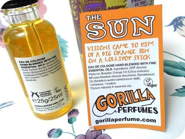A picture of Lush Sun Gorilla Perfume