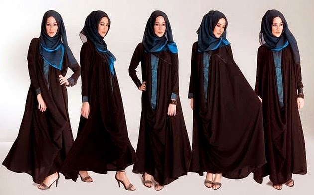 Abaya hijab style