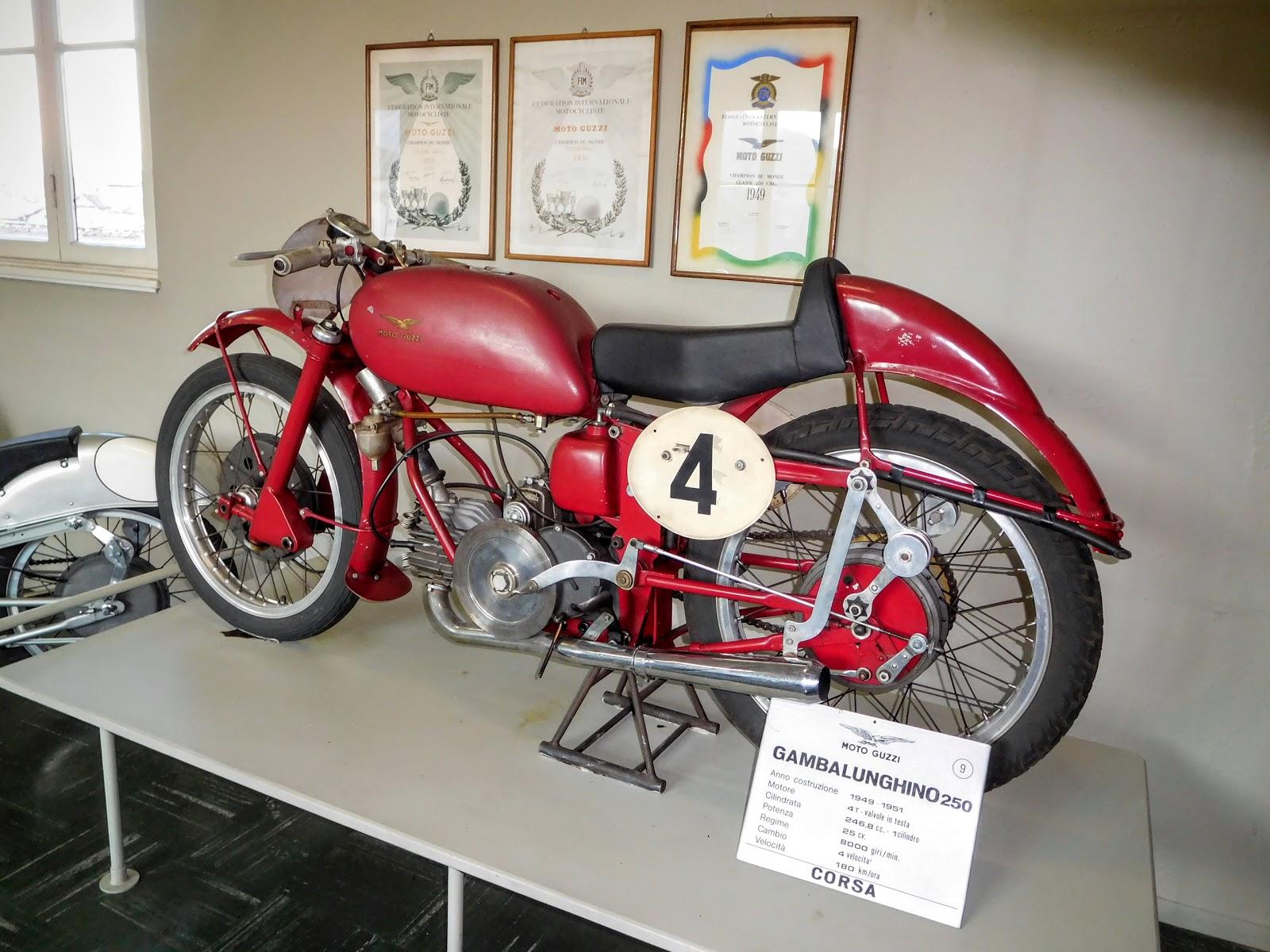 Tigho NYDucati: 1949-51 Moto Guzzi Gambalunghino 250