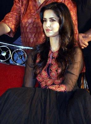 Katrina Kaif on the sets of STV Launch Photos