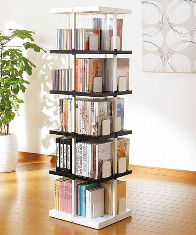 unique shelving storage book
