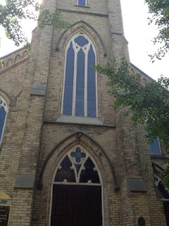 Simcoe Street United Church, , Oshawa, Ontario, Canada. Copyright Catherine McDiarmid-Watt