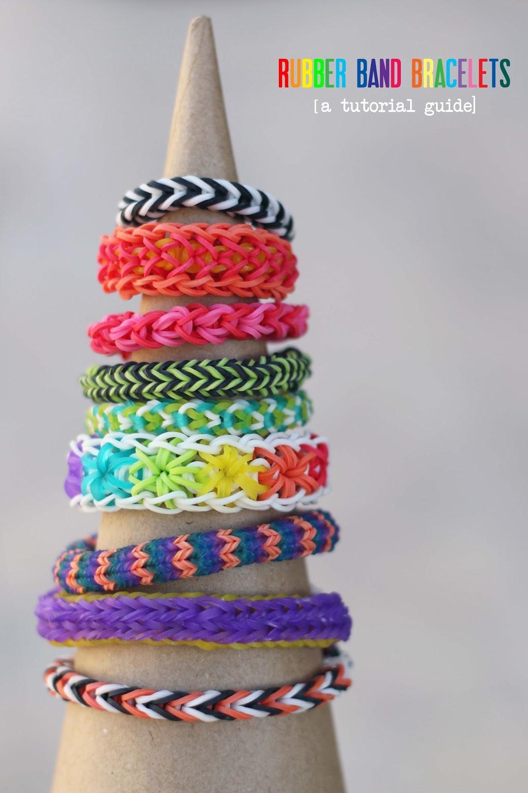 make rainbow loom bracelets a tutorial roundup