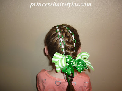 st patricks day hairstyle