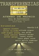 Sábado, 19 de noviembre a las 19:30 h. en el ATENEO de MADRID