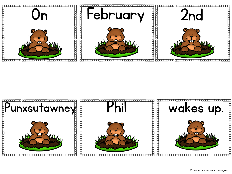 February Sentence Scrambles