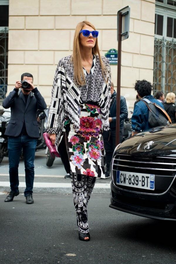 Street Style Paris Fashion Week Spring 2014 Fashion Brands