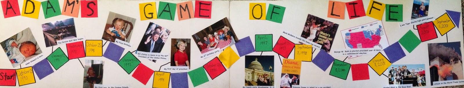 Timeline kids project