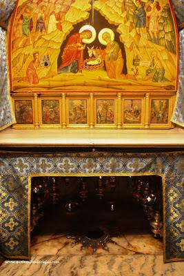 Lugar del nacimiento de Jesús - Belen - Palestina