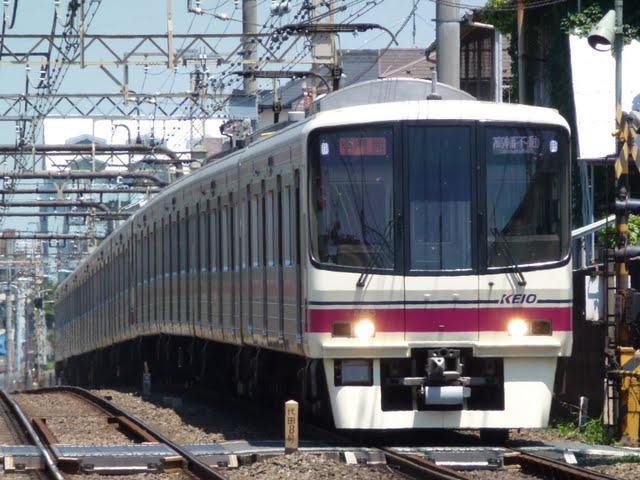 京王電鉄 準特急 高幡不動行き3 8000系(節電ダイヤに伴う運行)