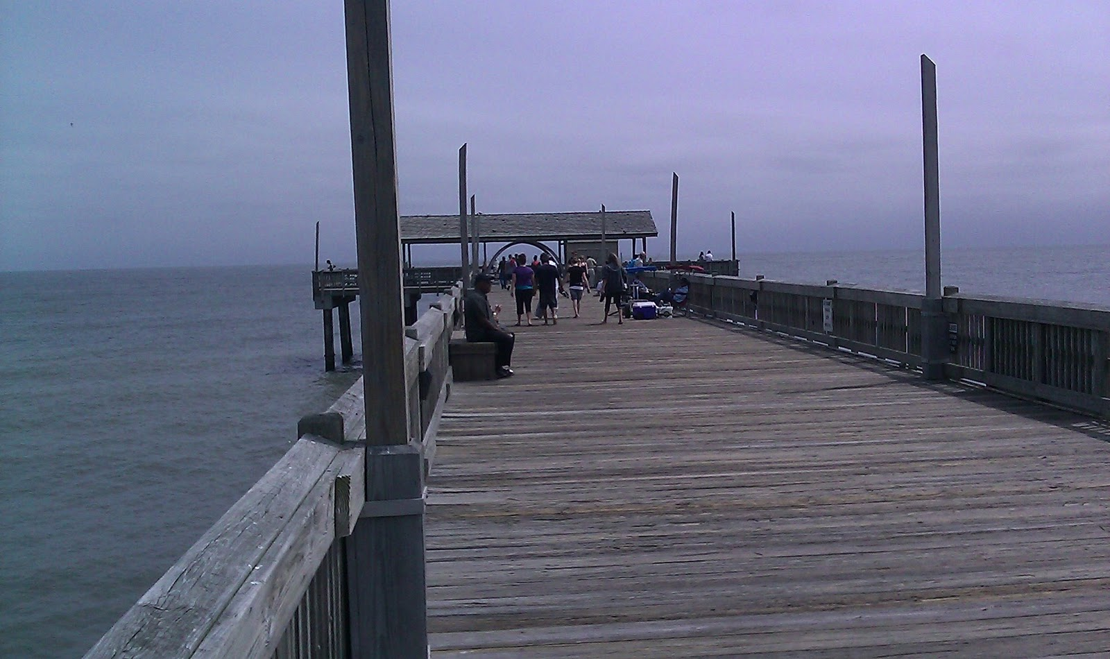 The happitraveler savannah tybee island ga saturday for Tybee island fishing pier