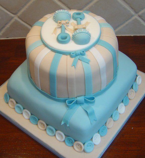 Torta babyshower varon - Imagui