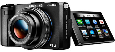 Samsung revela EX2F câmera digital equipada com Wi-Fi
