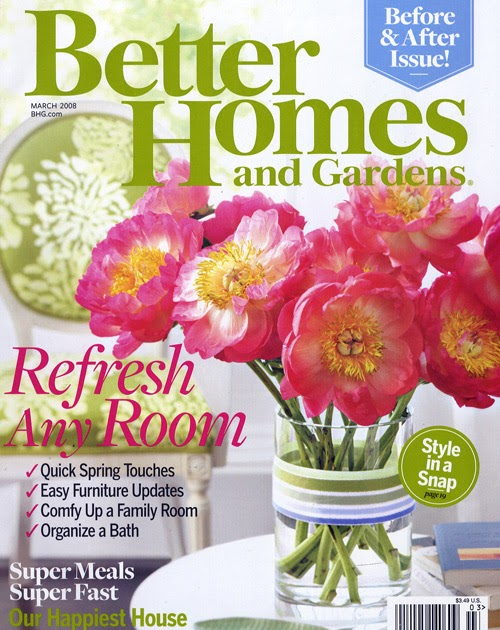 Ladyme2 1 Yr Subscription To Better Homes Gardens