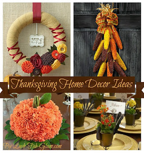 10 Fabulous Thanksgiving Home Décor Ideas.