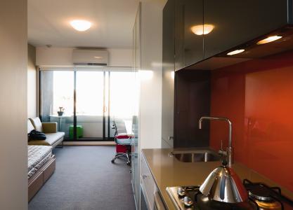 contoh kamar kosan studio ekslusif design rumah