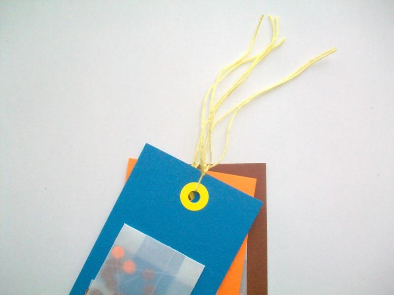 diy bilecik do prezentów