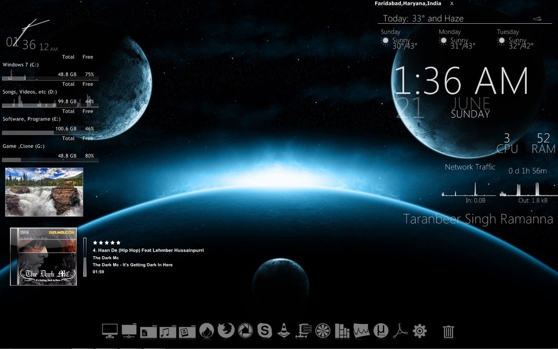How to Create an Attractive Customized Desktop HUD with Rainmeter