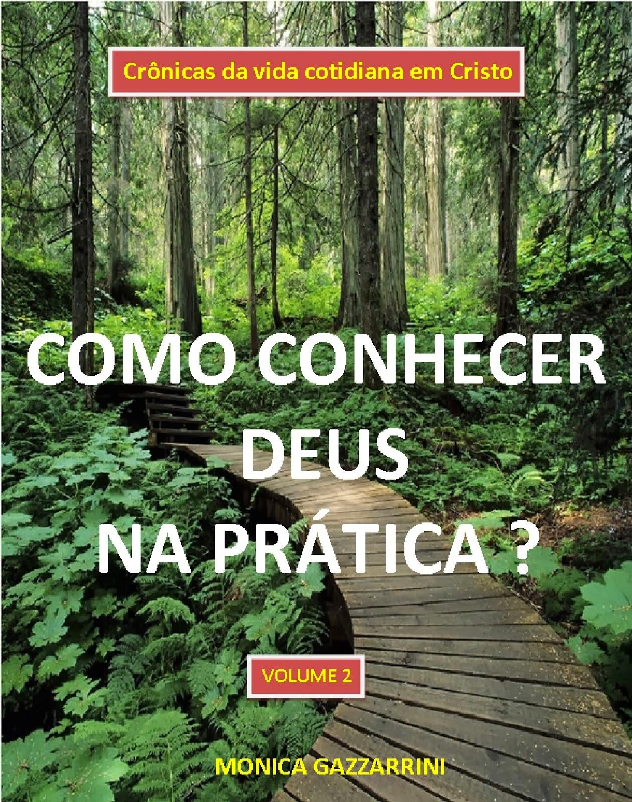 NOVA CAPA !! CONHEÇA DEUS VOL 2