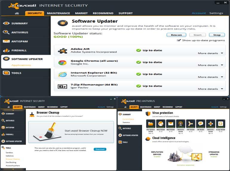 Download Free Antivirus & VPN