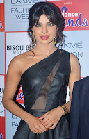 Priyanka Chopra spotted in a Leather Black Top and Leggings Stunning Spicy Photos