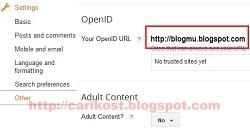 membuat openid di blogger