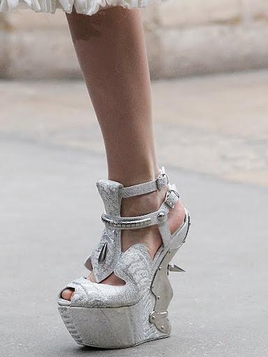 обувки без ток Alexander McQueen