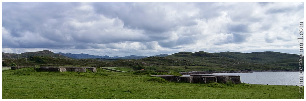 Sunday evening gairloch to badcaul 25 miles diary of a vagabond rubha nan sasan beyond cove is home to a range of wwii command posts and gun emplacements which helped guard the entrance to loch ewe malvernweather Choice Image
