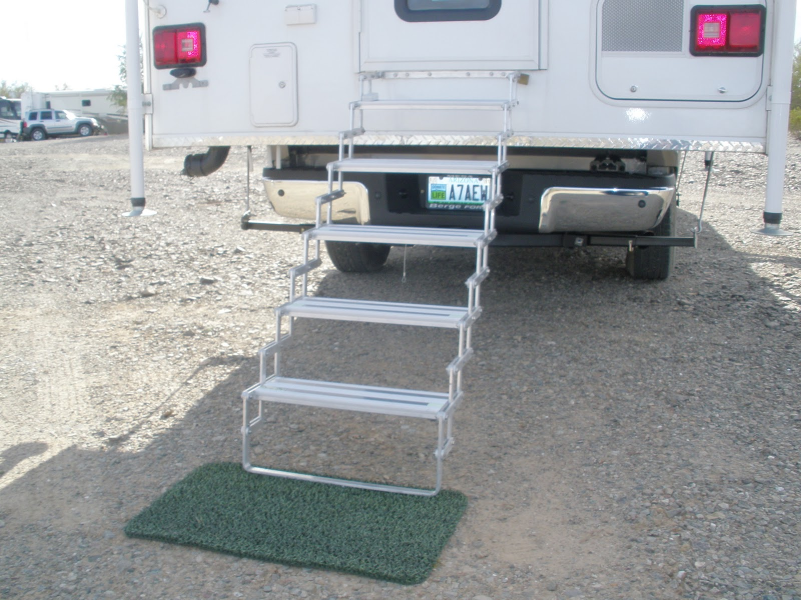 Steps For Rvs : Camper trailer steps with new minimalist in australia
