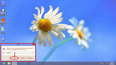 Learn how to disable show or don't show hidden files and folders in windows 8 step3