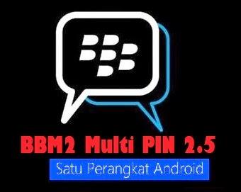 download bbm2 dual pin versi Clone 2.5 sudah ada musik update status
