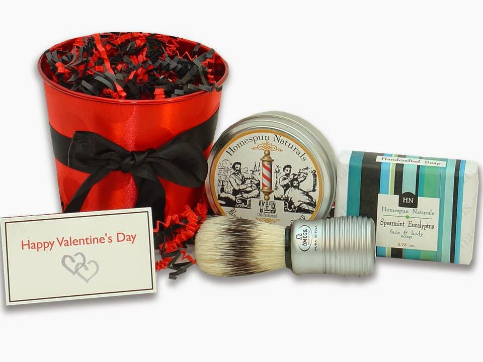 Be My Valentine Shaving Set for Men