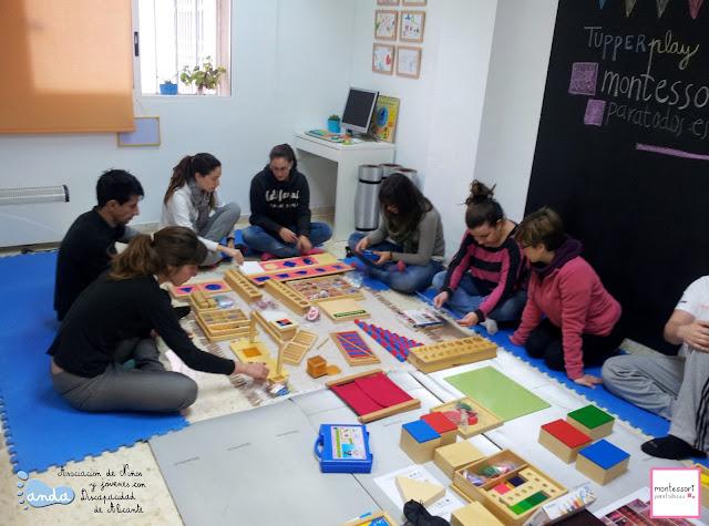 Tupperplay Montessori para todos en Anda Alicante
