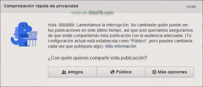 Dinosaurio Facebook nos ayuda con la privacidad