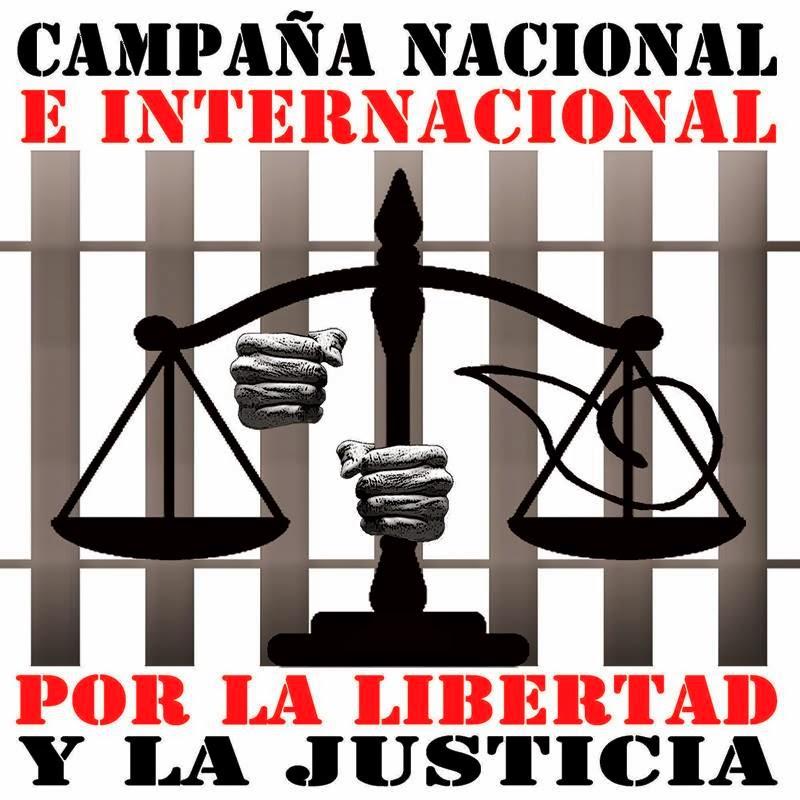 """Campaña Nacional e Internacional """"Por la Libertad y la Justicia"""""""