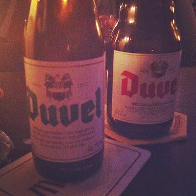 Belgische biertjes proeven