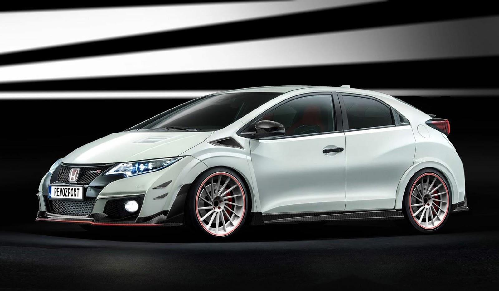 Honda Civic Type R Gets RevoZport Body Kits | carscoops.com