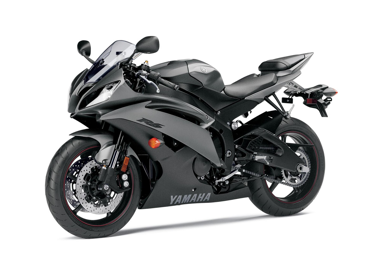 Yamaha yzf r6 motorcycle is using 600 cc engine 599cc four cylinder dohc