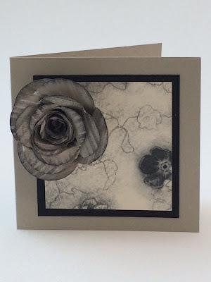 Rose gift card