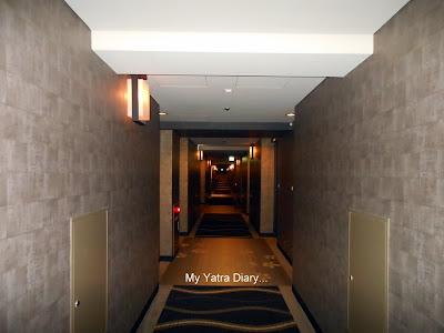 Verandah of the New Miyako hotel in Kyoto - Japan