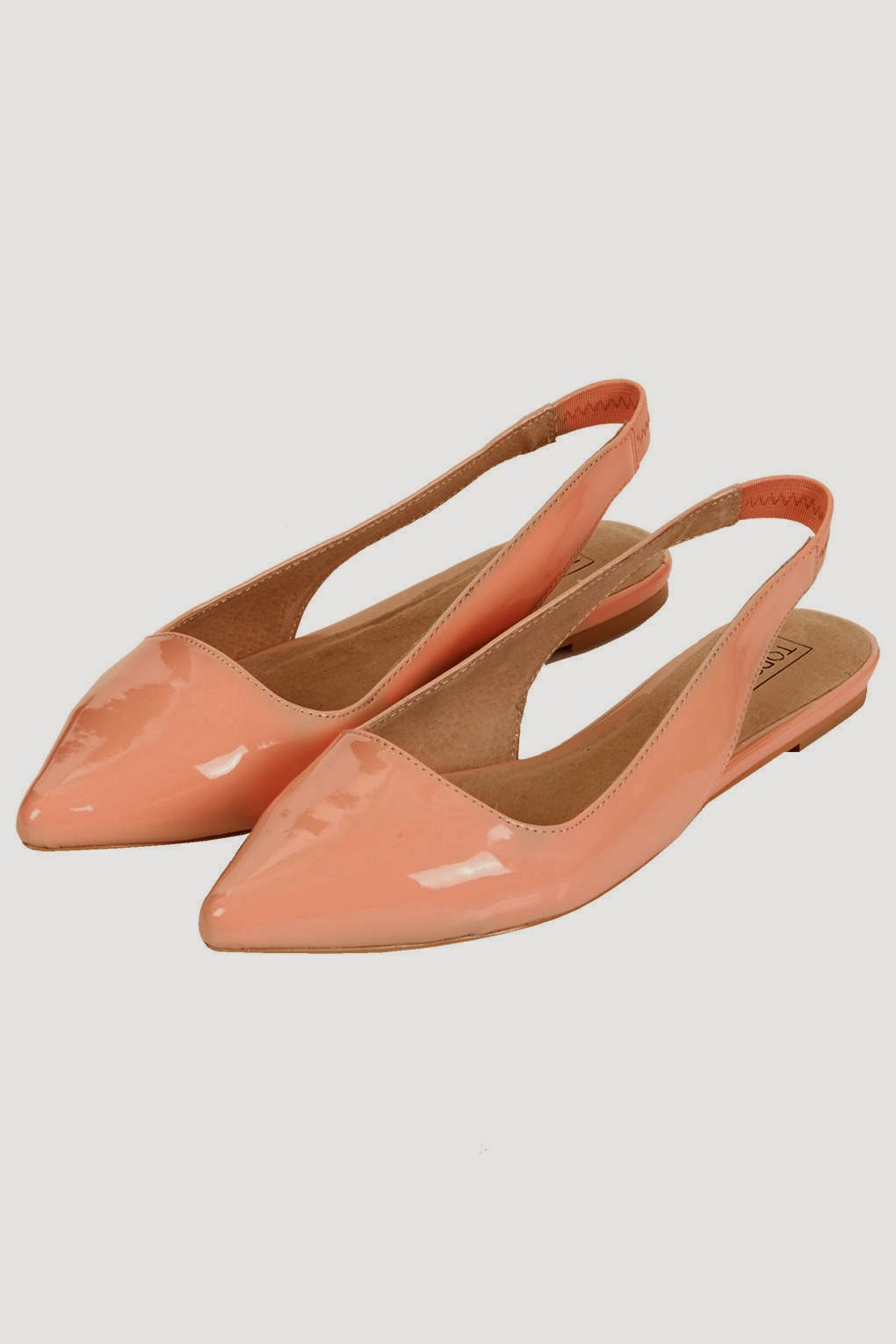 topshop pointed flats