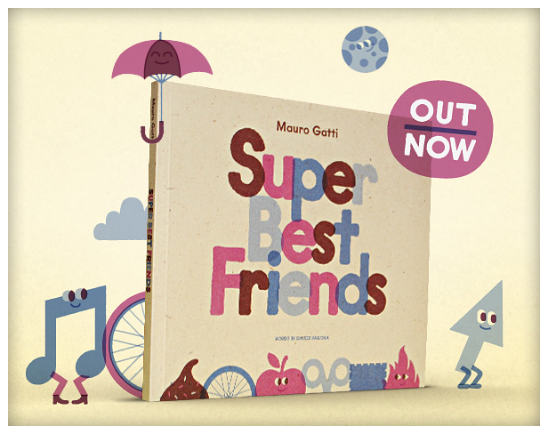 sixxa store vienna: Super Best Friends Buch von Mauro Gatti