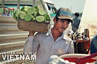 Lotus Fruit Vendor, Lotus Seeds, Vietnam Cambodia Border, Asia, Travel, Portrait, Man