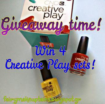 Win 4 creative play sets.