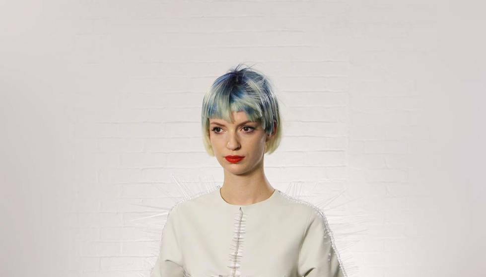 Wella, Trend Vision, pastel, hair, fishtail, neon, mermaid hair, blue bob,