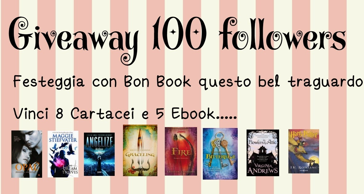 http://bon-book.blogspot.it/2014/11/100-followers-giveaway.html