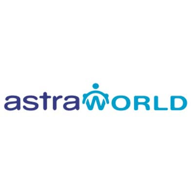 astra world logo vector