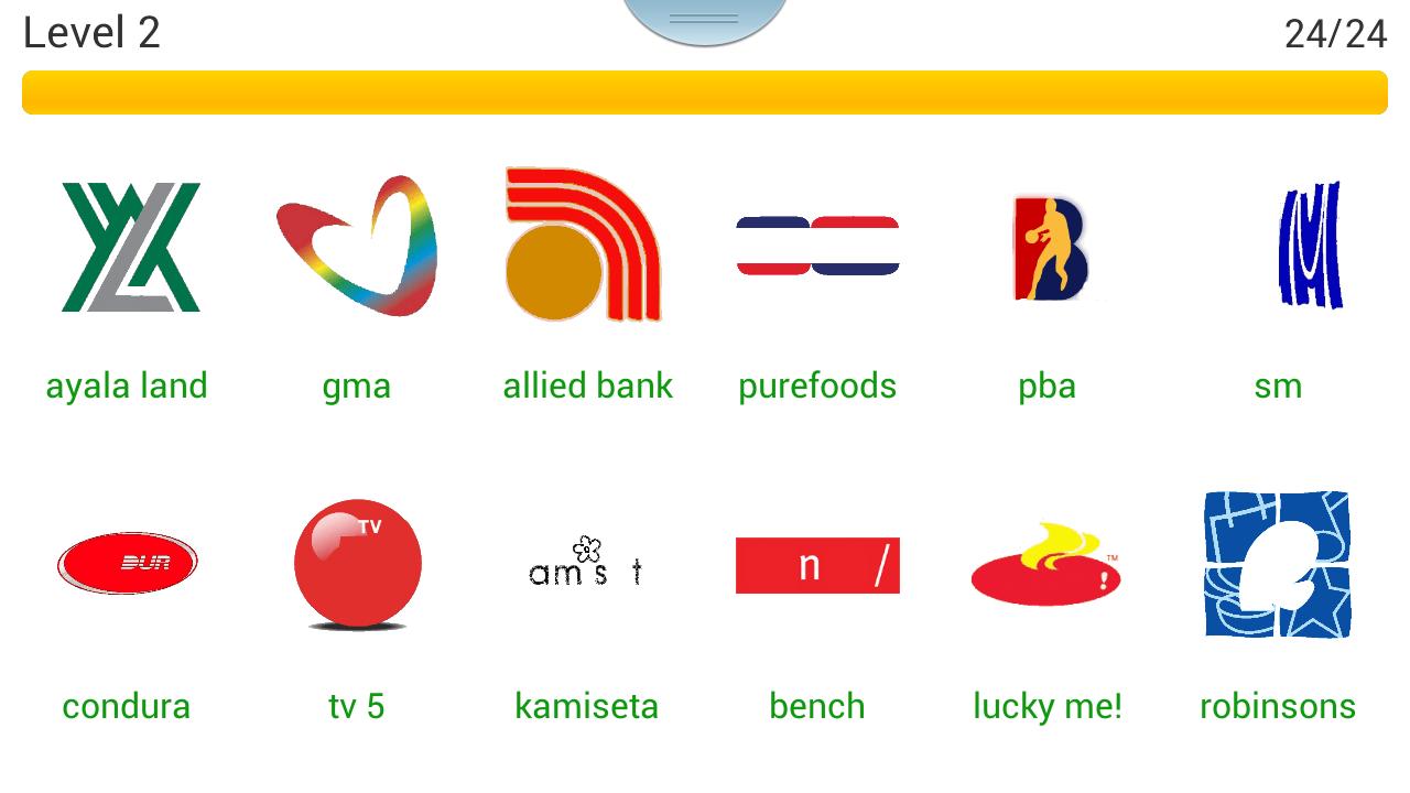Logo Quiz Philippines Level 2 Page 2 cheat sheet