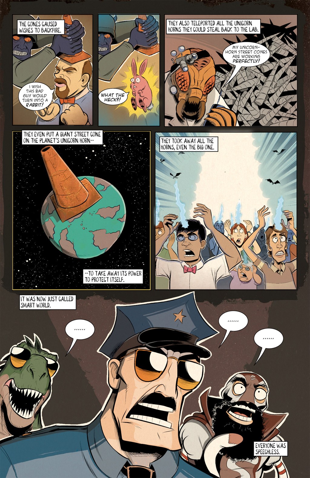 Read online Axe Cop: Bad Guy Earth comic -  Issue #2 - 14