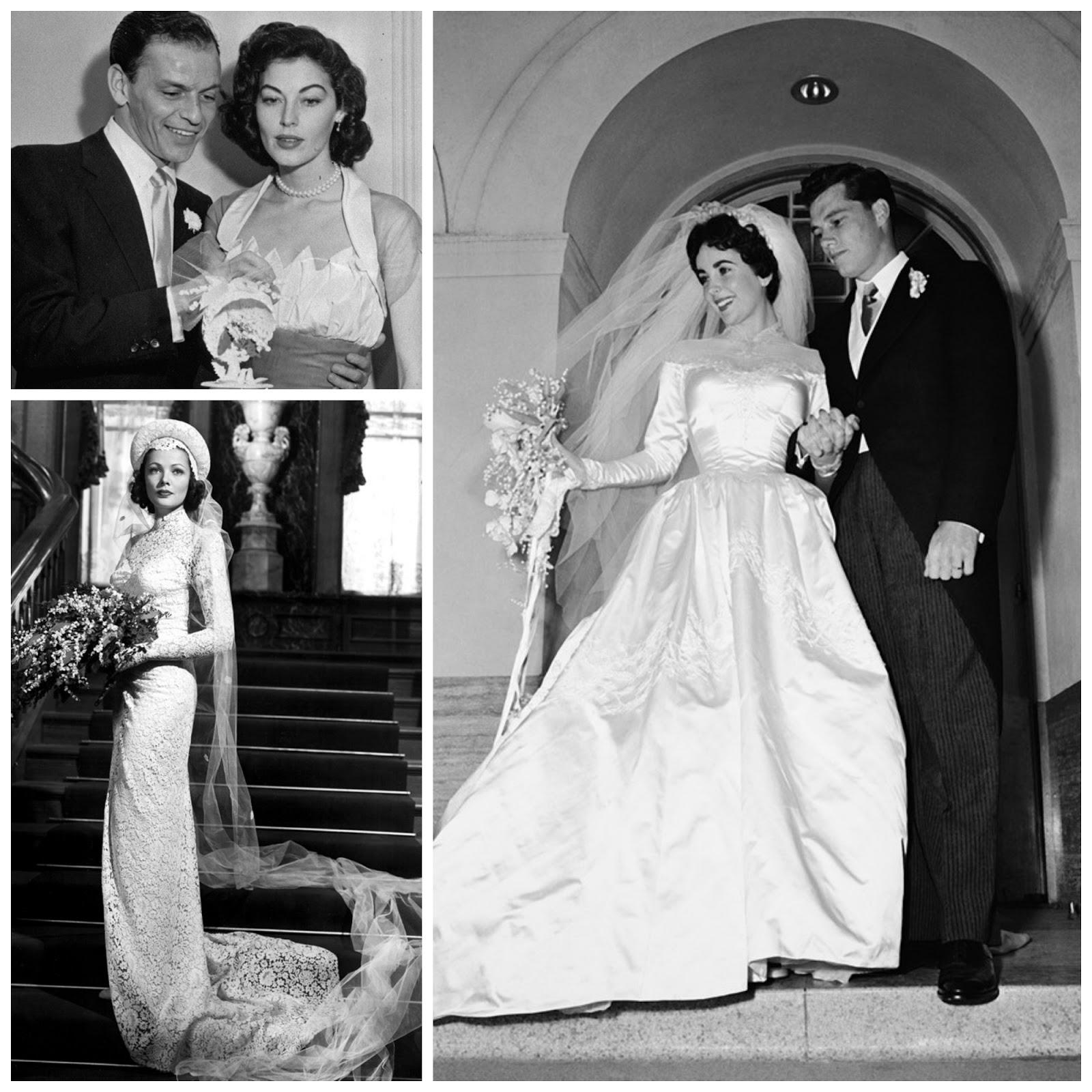 Ava Gardner Wedding Dresses